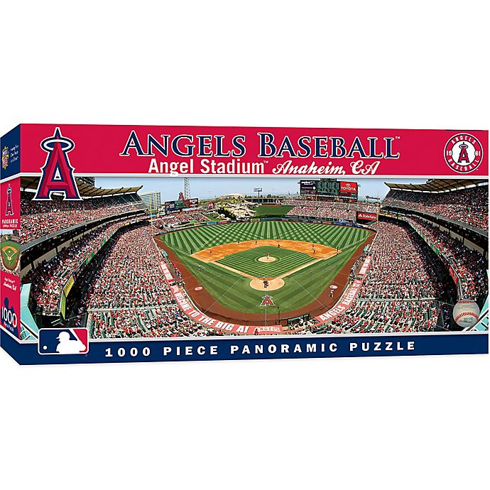 Mlb Los Angeles Angels 1000 Piece Stadium Panoramic Jigsaw Puzzle Bed Bath Beyond