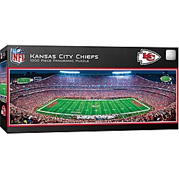 NFL Kansas City Chiefs 1000-Piece Stadium Panoramic Jigsaw Puzzle