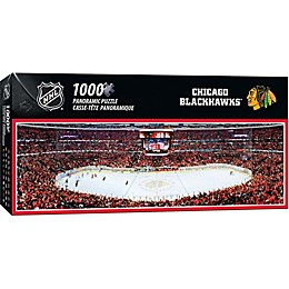 NHL Chicago Blackhawks 1000-Piece Arena Panoramic Jigsaw Puzzle