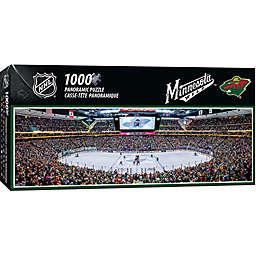 NHL Minnesota Wild 1000-Piece Arena Panoramic Jigsaw Puzzle