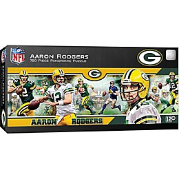 NFL Green Bay Packers 750-Piece Stadium Panoramic with Aaron Rodgers Jigsaw Puzzle
