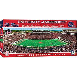 University of Mississippi 1000-Piece Stadium Panoramic Jigsaw Puzzle