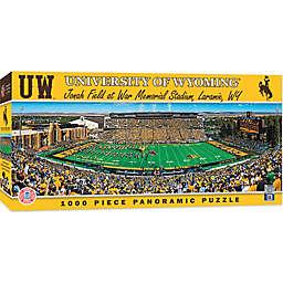 University of Wyoming 1000-Piece Stadium Panoramic Jigsaw Puzzle