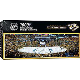 NHL Nashville Predators 1000-Piece Arena Panoramic Jigsaw Puzzle