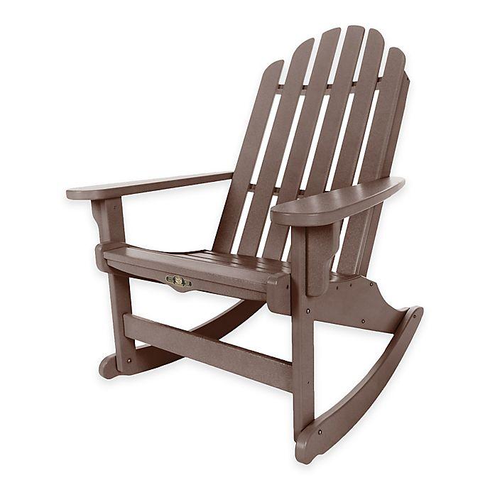 Groovy Pawleys Island Durawood Essential Adirondack Rocker Bed Lamtechconsult Wood Chair Design Ideas Lamtechconsultcom