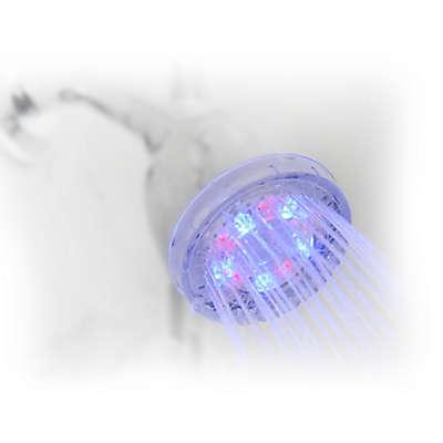 Shower Wow LED Rainbow Shower Head