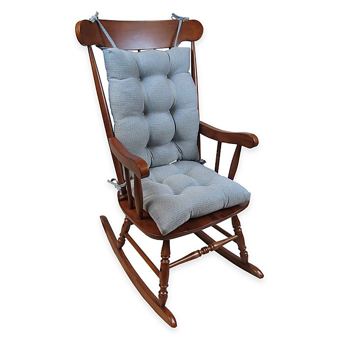 Alternate image 1 for Klear Vu Omega Extra-Large 2-Piece Rocking Chair Pad Set