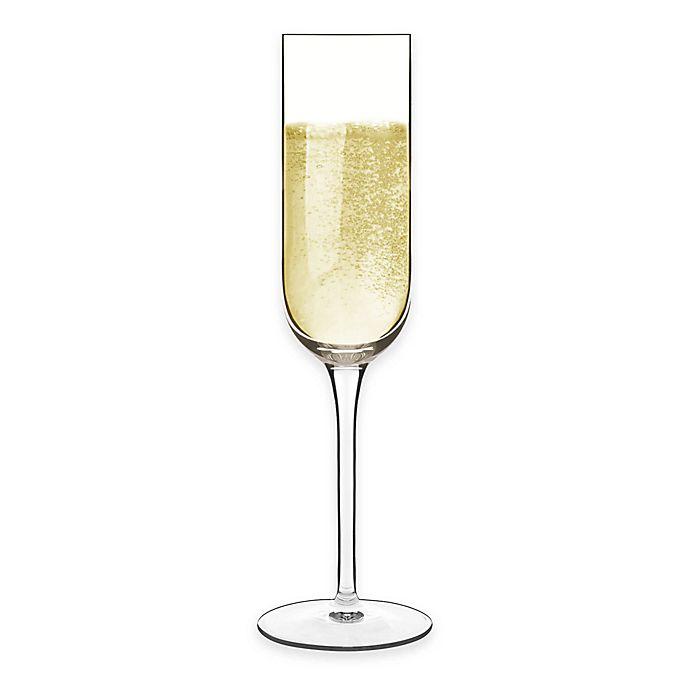 Alternate image 1 for Luigi Bormioli Sublime SON.hyx Champagne Flutes (Set of 4)