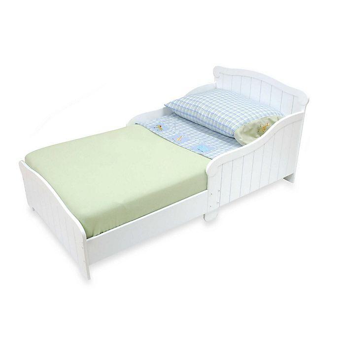 Alternate image 1 for KidKraft® Nantucket Toddler Bed in White