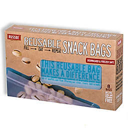 Russbe Reusable Sandwich Bags in Blue (Set of 8)