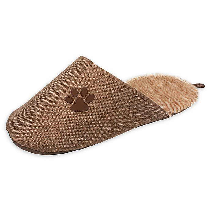 Alternate image 1 for Slip-On Fashionable Slipper Dog Bed in Brown