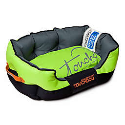 Toughdog Performance-Max Sporty Comfort Cushioned Medium Dog Bed in Green/Black