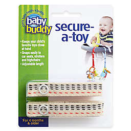 Baby Buddy® 2-Pack Secure-A-Toy in Tan