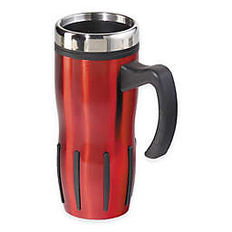 Oggi™ Lustre 16 fl. oz. Multi-Grip Stainless Steel Travel Mug