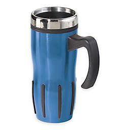 Oggi™ Lustre 16 fl. oz. Multi-Grip Stainless Steel Travel Mug