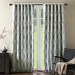 Madison Park Serendipity Rod Pocket/Back Tab Window Curtain Panel