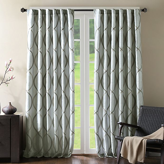 Alternate image 1 for Madison Park Serendipity Window Curtain Panel and Valance