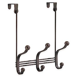 InterDesign® York Lyra Over-the-Door 3-Hook Rack