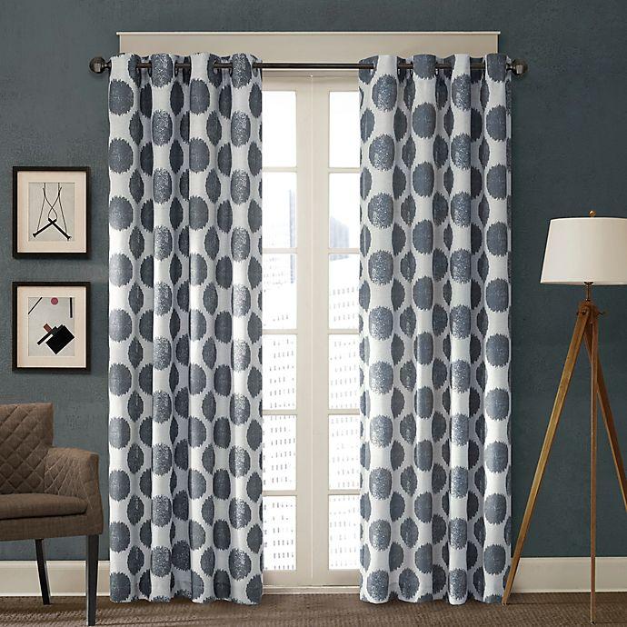 Alternate image 1 for Madison Park Maru Window Curtain Panel