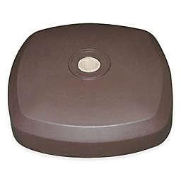 SimplyShade® Bacara Sand-Filled Resin Base in Bronze