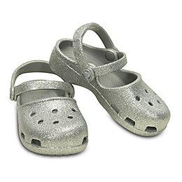 Crocs™ Kids' Karin Sparkle Clog in Silver