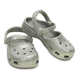 Crocs™ Kids' Karin Sparkle Clog in Silver