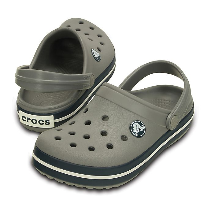 6032cd21ac01 Crocs™ Kids  Crocband™ Clog in Smoke Navy