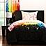 Part of the Crayola® Cosmic Burst Reversible Comforter Set in Black