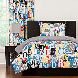 Crayola® Dream On Reversible Comforter Set