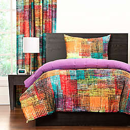 Crayola® Etch Reversible Comforter Set