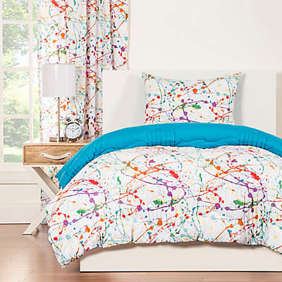 Crayola® Splat Reversible Comforter Set