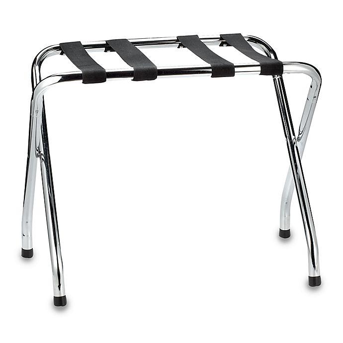 Alternate image 1 for Chrome Folding Luggage Rack