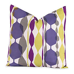Crayola® Bejeweled 18-Inch Square Throw Pillow in Purple
