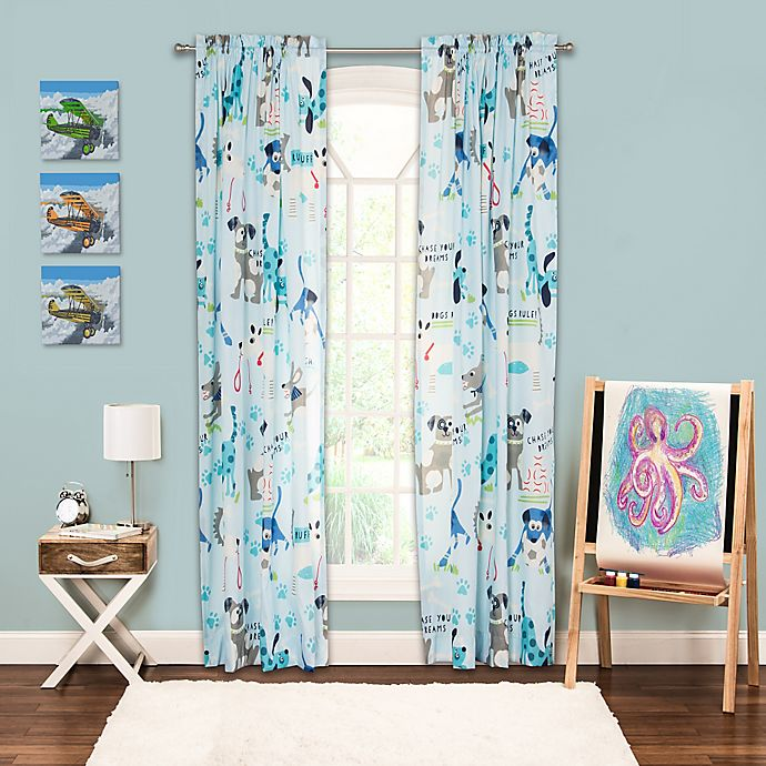 Alternate image 1 for Crayola® Chase Your Dreams 84-Inch Window Curtain Panel
