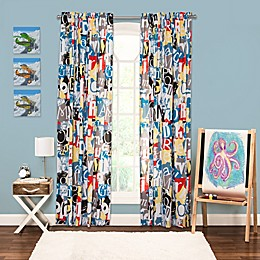 Crayola® Dream On 84-Inch Window Curtain Panel