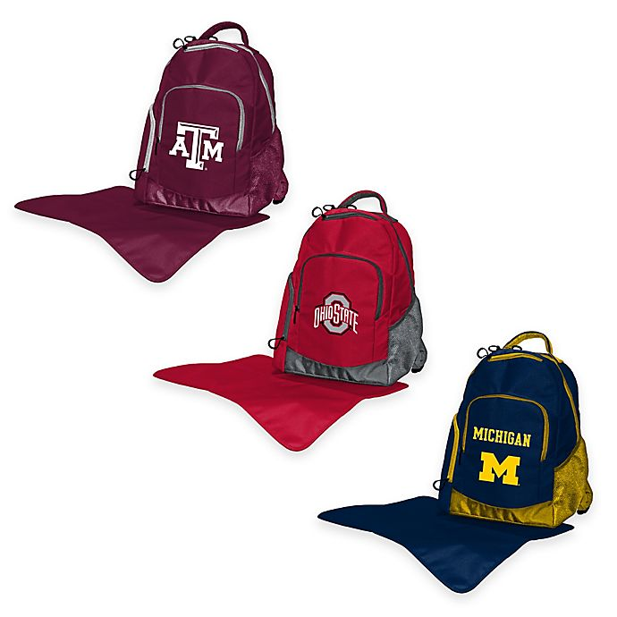 Alternate image 1 for Lil Fan® NCAA Diaper Backpack Collection