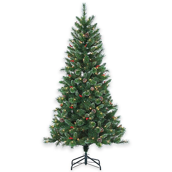 Where To Buy A Pre Lit Christmas Tree: Buy Briarwood Pine 6.5-Foot Pre-Lit Christmas Tree With