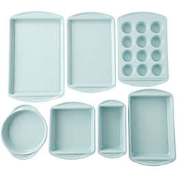 Wilton® Texturra Performance Nonstick 7-Piece Bakeware Set in Light Blue