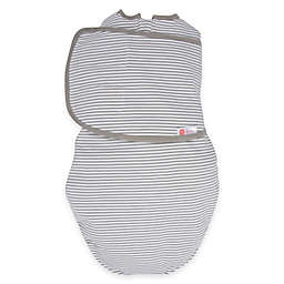 Embe® Classic 2-Way Swaddle™ in Grey Stripe