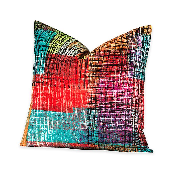 Alternate image 1 for Crayola® Etch 16-Inch Square Throw Pillow
