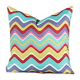 Crayola® Mixed Palette Chevron 20-Inch Square Throw Pillow