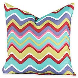 Crayola® Mixed Palette Chevron European Pillow Sham