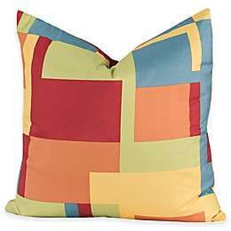 Crayola® Paint Box 26-Inch Square Throw Pillow