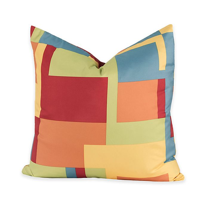 Alternate image 1 for Crayola® Paint Box 17-Inch Square Throw Pillow