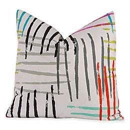 Crayola® Stroke of Genius 20-Inch Square Throw Pillow