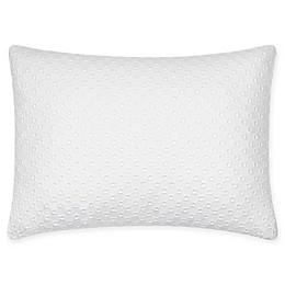Calvin Klein Eyelet Oblong Throw Pillow in White