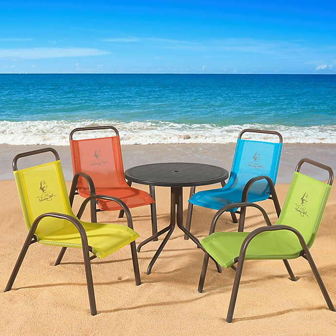 Alternate image 1 for Panama Jack Kids 5-Piece Outdoor Dining Set
