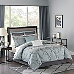 Madison Park Lavine California King Comforter Set in Blue