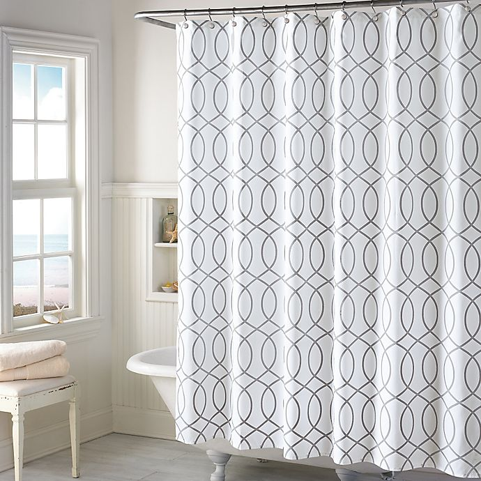 Shower Curtains At Bed Bath And Beyond huntley shower curtain | bed bath & beyond