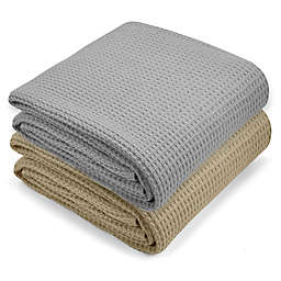Metallic Oversized Knit Throw Blanket